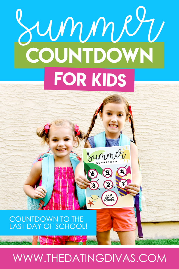 TOTALLY doing this darling summer countdown with my kiddos!! #datingdivas #summercountdown #countdowntoendofschoolyear