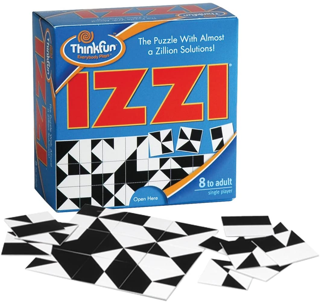One-player tile game Izzi — a puzzle with almost a zillion solutions! | The Dating Divas