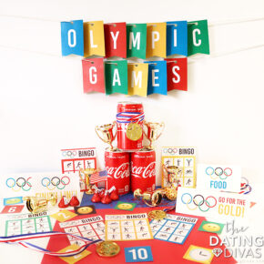 An Olympic Game Party