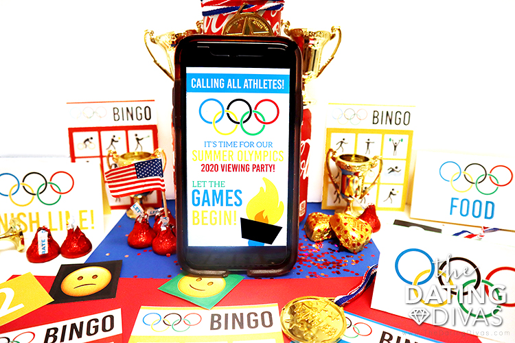 An Olympic Themed Invite