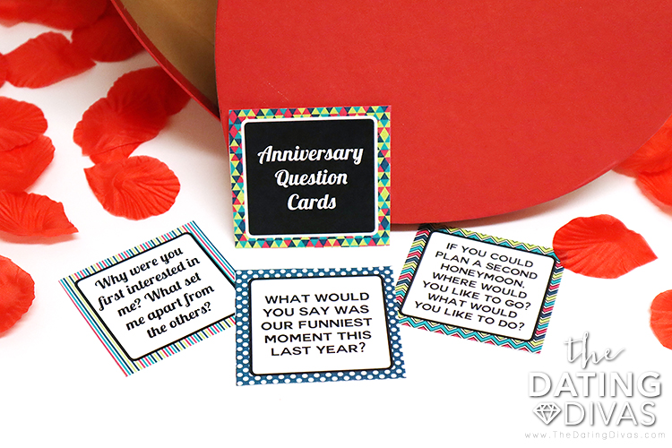 Printable Anniversary Questions
