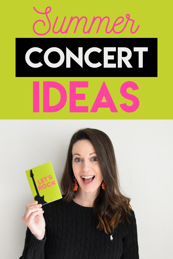 AWESOME ideas for free outdoor concerts!! Can't wait to try these! #outdoorconcert #outdoorconcerts #freeoutdoorconcerts