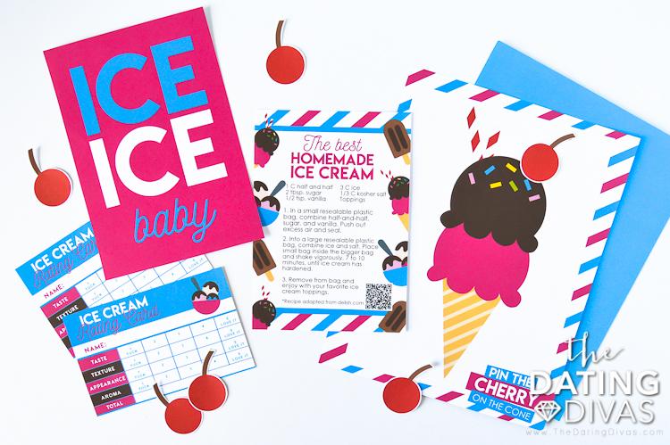 Homemade Ice Cream Date
