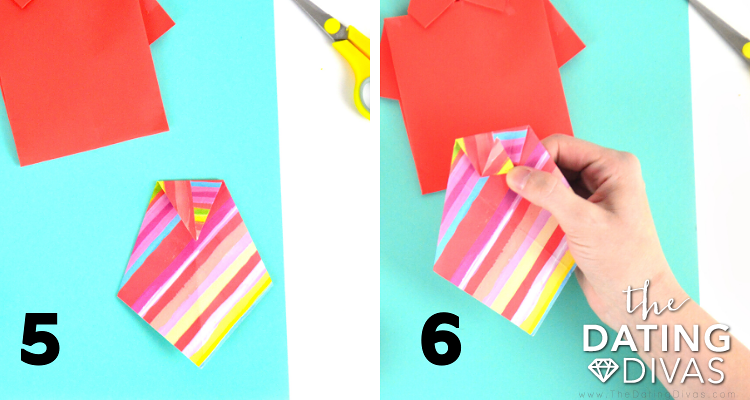 Steps for How to Make a Paper Tie