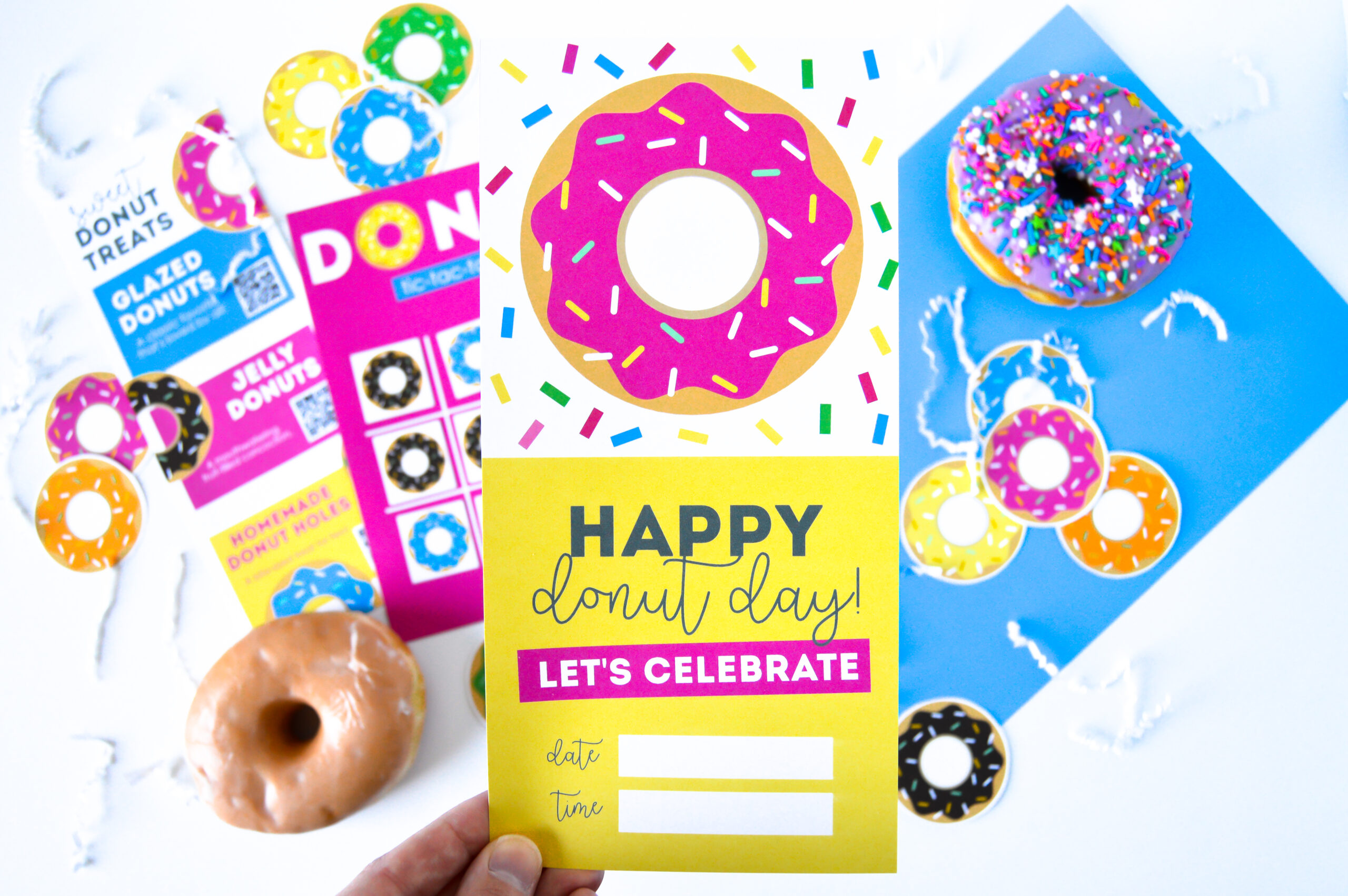 Donut Day Invitation