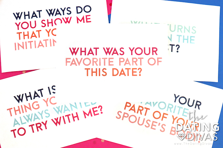 Sexy Conversation Cards