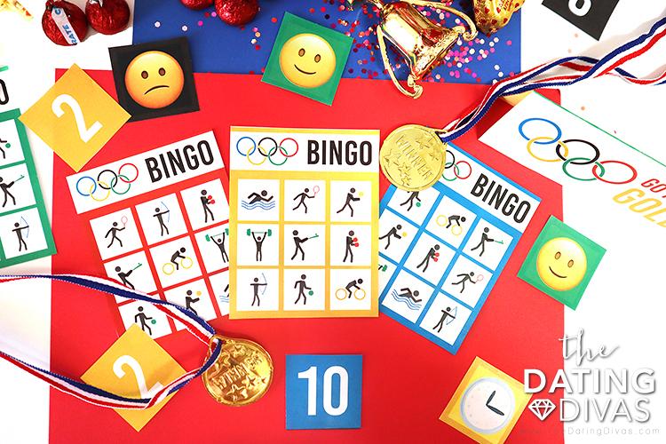 Summer Olympic 2021 Themed Bingo