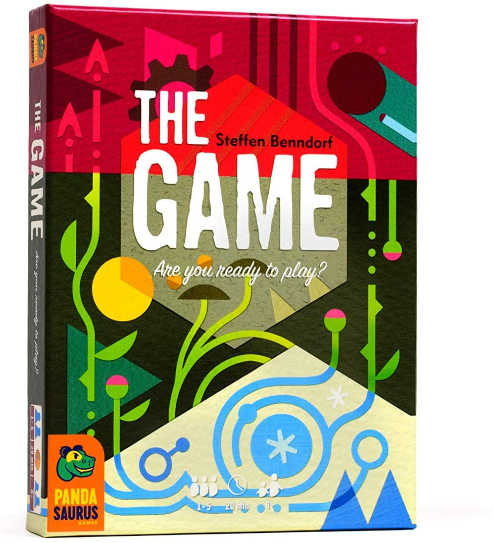 """1 player game """"The Game"""" that's perfect to play alone 