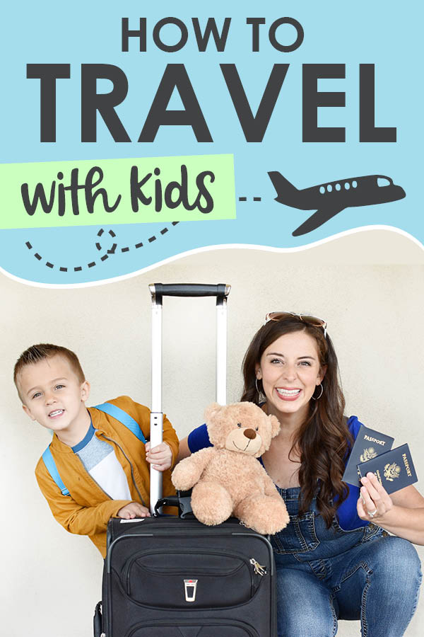 If you're wondering how to travel with kids, these time-tested tricks and activities will make your next trip a successful and memorable time together as a family! Saving this for our next vacation! #familytravel #flyingwithkids