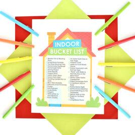 Indoor Bucket List