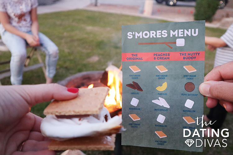 Bonfire Night S'mores Menu