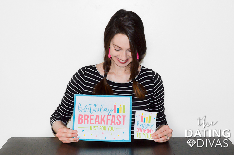 Birthday Breakfast Ideas and Printables