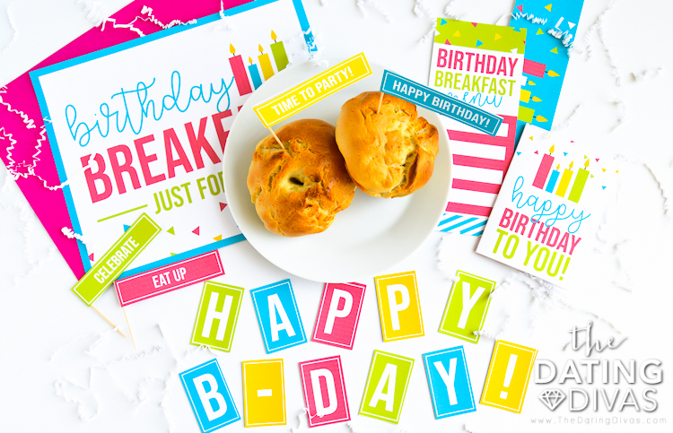 Morning Happy Birthday Party Printables