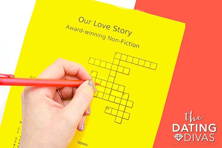 Create a Crossword Puzzle for Your Sweetie