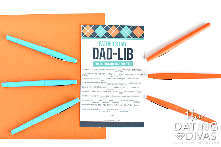 Father's Day Scavenger Hunt Activity Idea