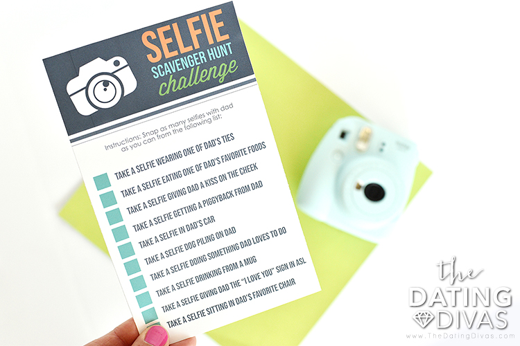 Father's Day Scavenger Hunt Game Ideas