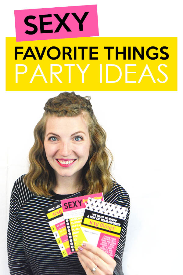 I've been looking for some favorite things party ideas and stumbled across this post... A Sexy Favorite Things Party! I can't wait to do this for a girls night!! #FavoriteThingsParty #GirlsNight