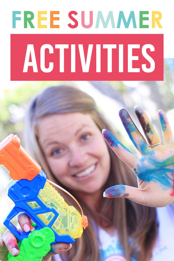 I can't WAIT to try these free summer activities! #summertimefun #freesummerideas