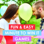 5 Minute to Win It Games Kids & Adults Will Love