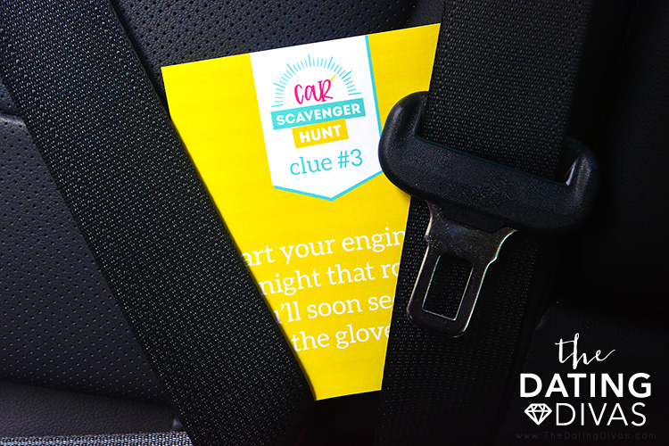 Father's Day Scavenger Hunt Clue Cards