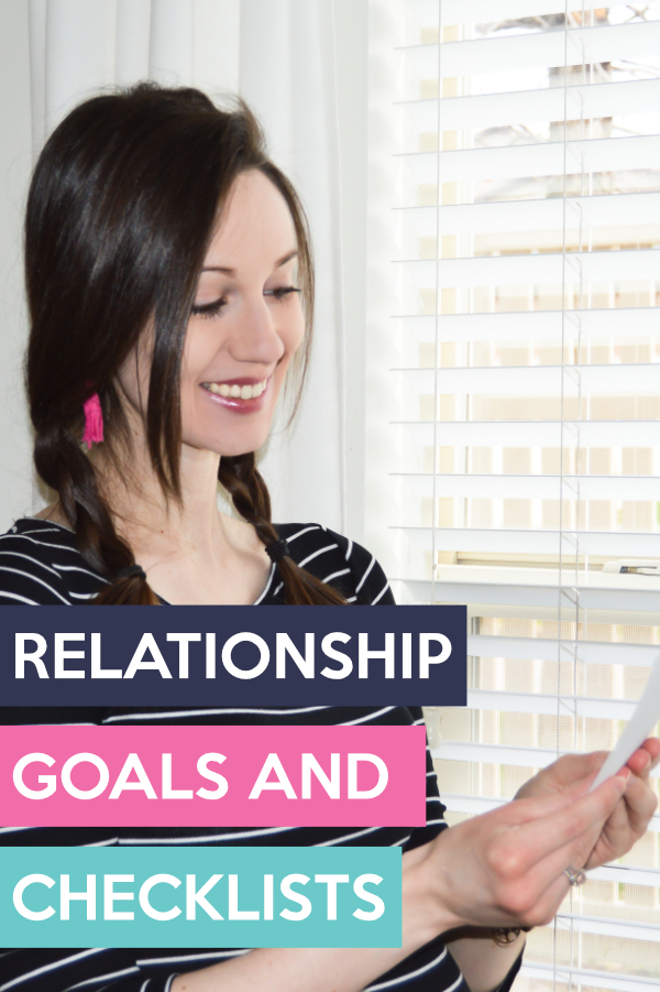 Looove these printable relationship goals checklists!! Totally pinning! #relationshipgoals #couplegoals