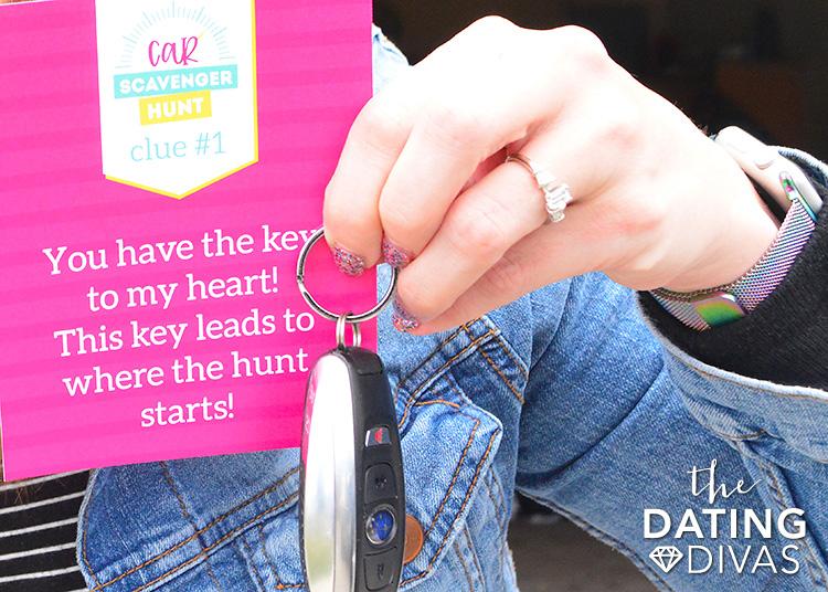 Car Journey Scavenger Hunt Clue Cards
