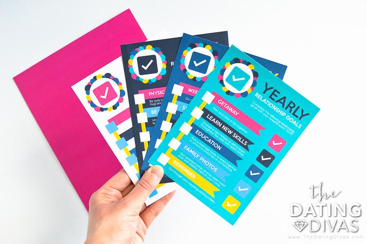 Set of Relationship Goals Printables