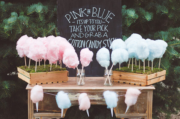 Cotton Candy Party Booth | The Dating Divas