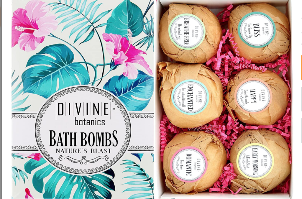 Bath Bombs Birthday Gift | The Dating Divas
