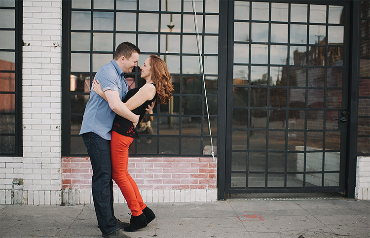 Bring it in with a hug for a cute couples pose. | The Dating Divas