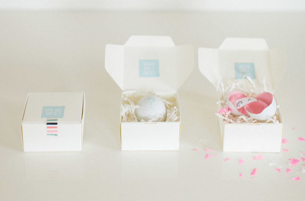 Egg Unique Gender Reveal Ideas for Family | The Dating Divas