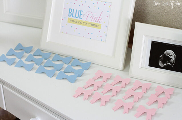Gender Vote Through Pins Gender Reveal Ideas | The Dating Divas