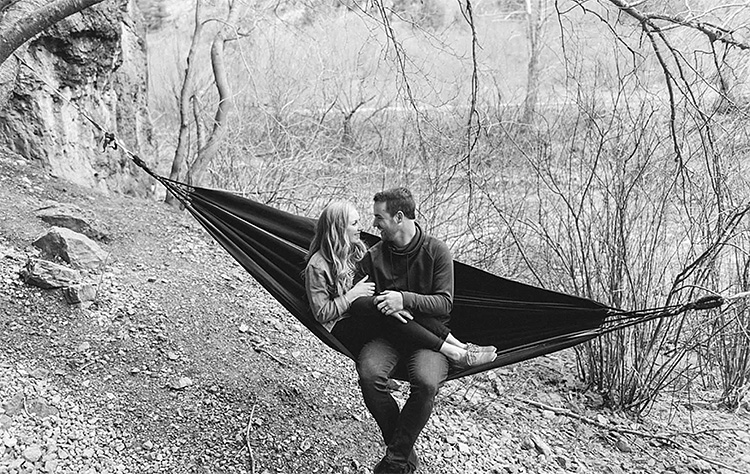 Hammocks make a great photo prop. | The Dating Divas