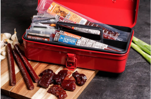 Jerky Box Birthday Gift Idea for Him