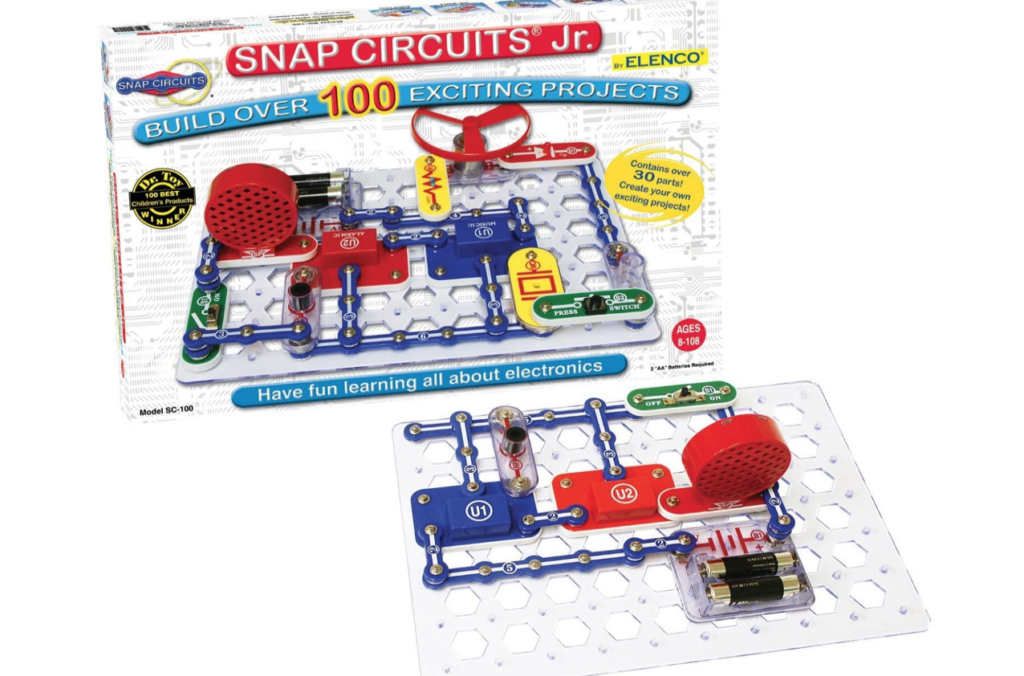 Circuit STEM Gift Idea for Boys | The Dating Divas