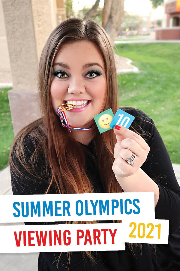 Can't wait to host a Summer Olympics 2021 viewing party now! This will be so fun! #familyfun #summerolympics #olympicviewingparty