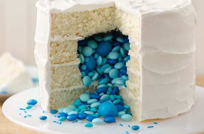Surprise Inside Cake Gender Reveal Ideas | The Dating Divas