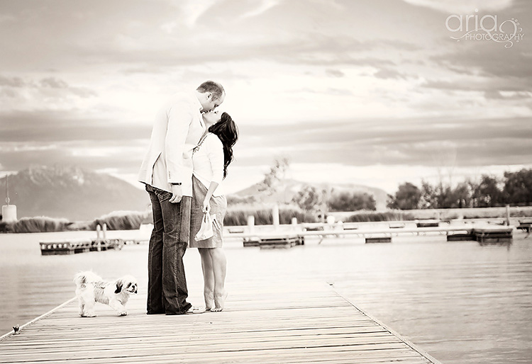 Tippy toes is a cute couple picture idea. | The Dating Divas