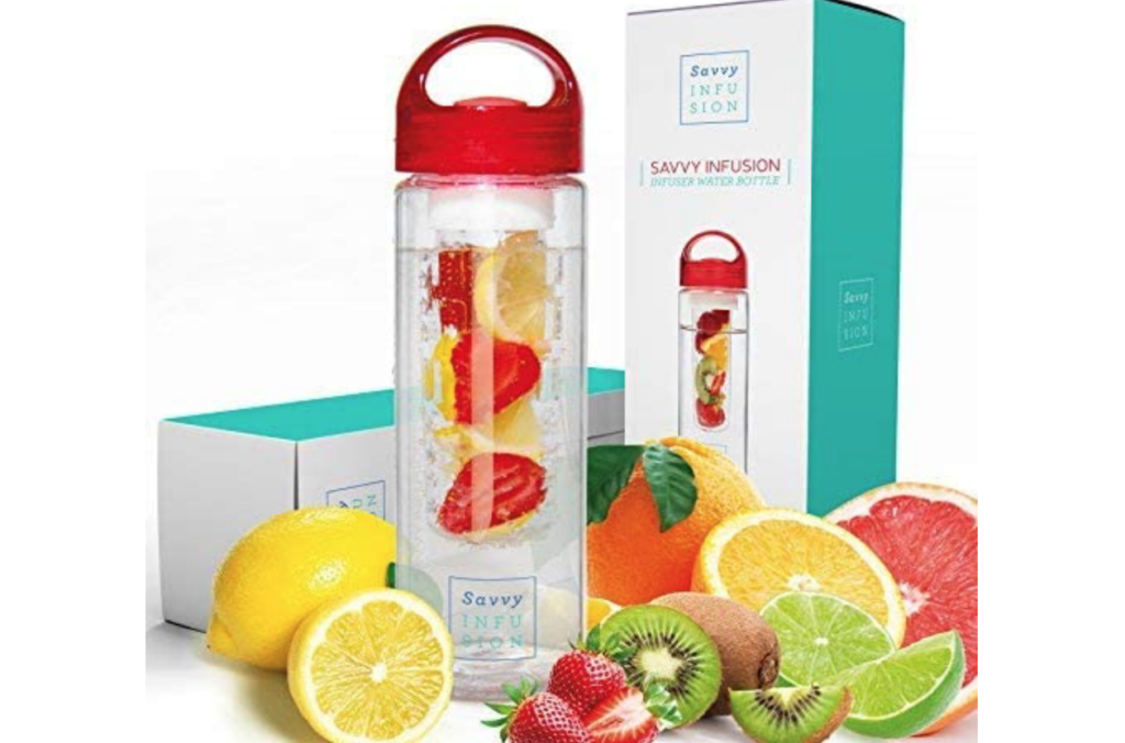 Infusion Water Bottle Gift | The Dating Divas