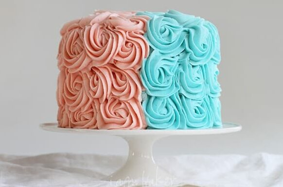 DIY Gender Reveal Cake Ideas | The Dating Divas