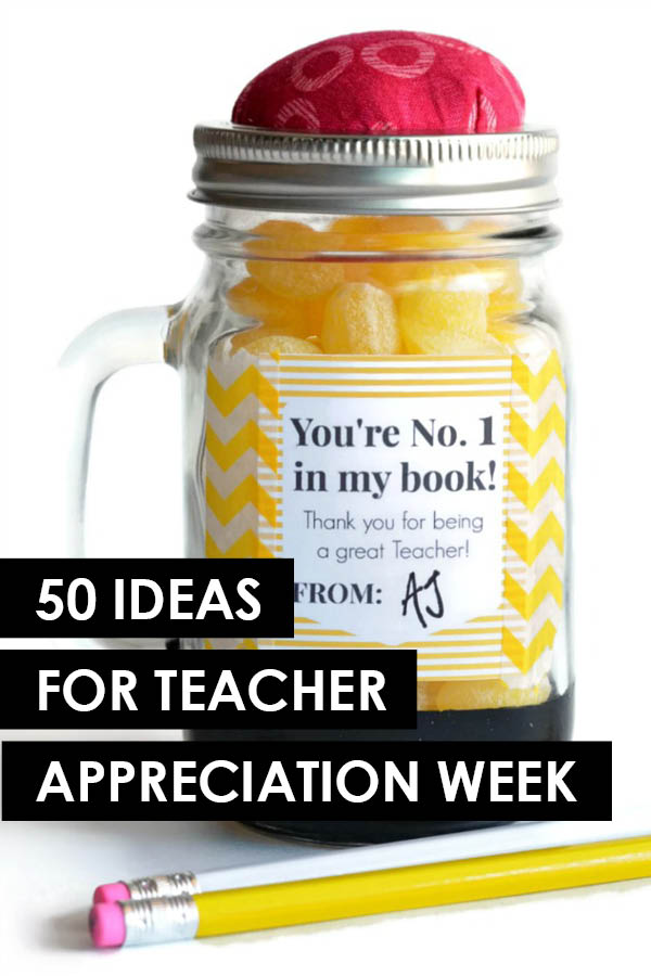 Teacher appreciation ideas are essential in this house! I'm always looking for good ideas to say thaks and www.TheDatingDivas.com totally came through for me. Can't wait to use #25 - so cute! #TeacherAppreciationIdeas #TeacherAppreciationWeek | The Dating Divas