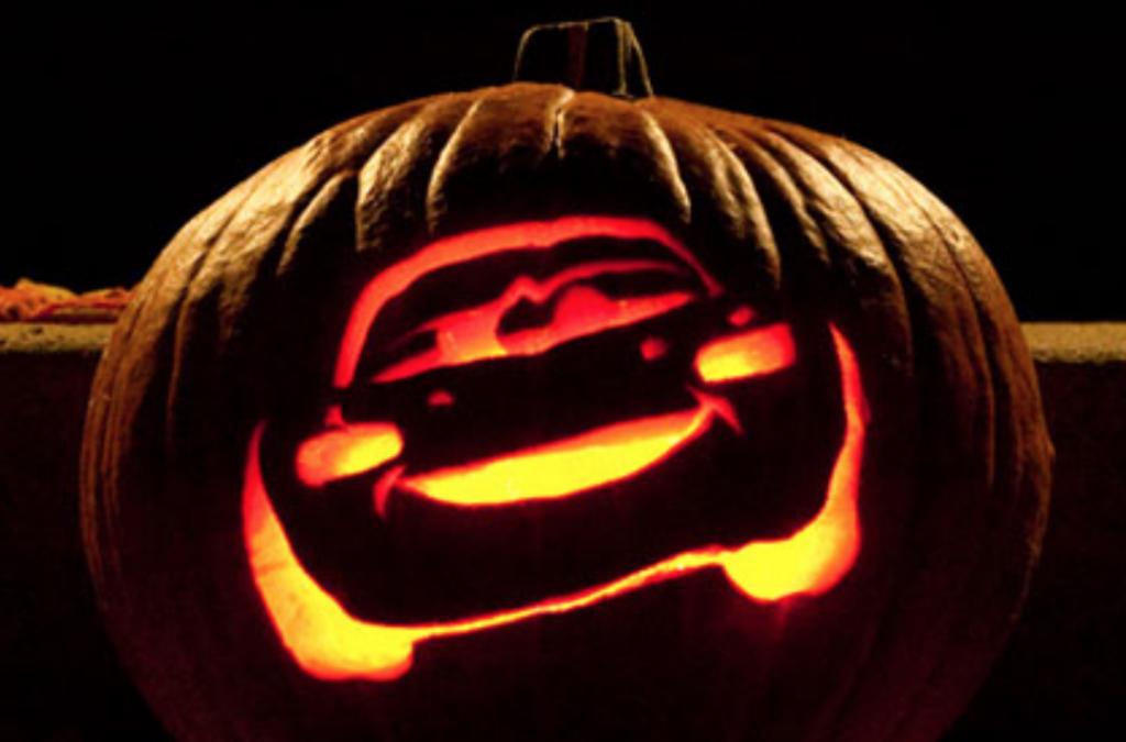 Cars pumpkin carving free stencil. | The Dating Divas
