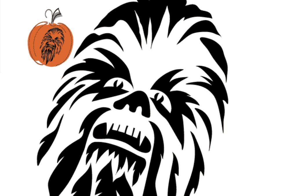 Chewbacca Star Wars pumpkin carving ideas. | The Dating Divas