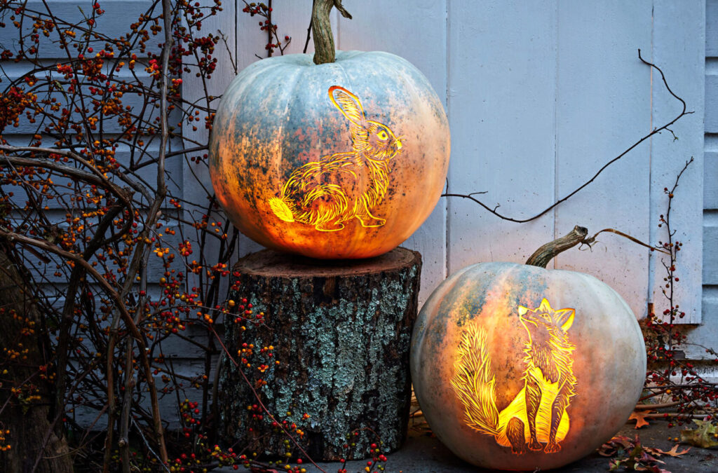 Beautiful pumpkin carving pattern templates. | The Dating Divas