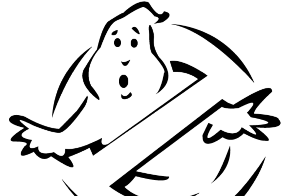 Ghost Busters pumpkin stencil for free. | The Dating Divas
