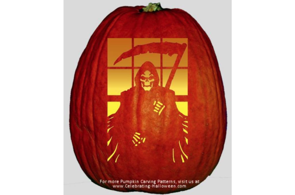 Grim Reaper Spooky Halloween Decor | The Dating Divas