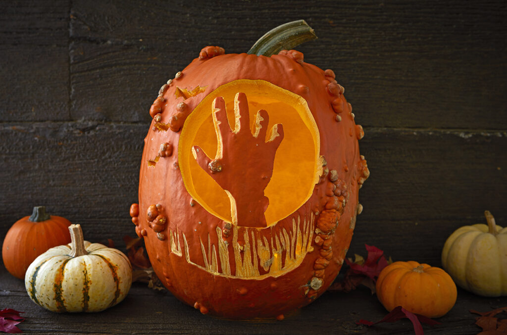 Hand reaching out for Halloween. | The Dating Divas