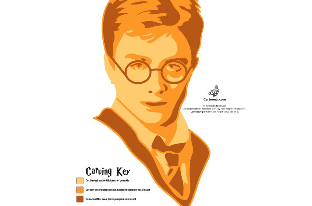 Harry Potter pumpkin stencils for free. | The Dating Divas