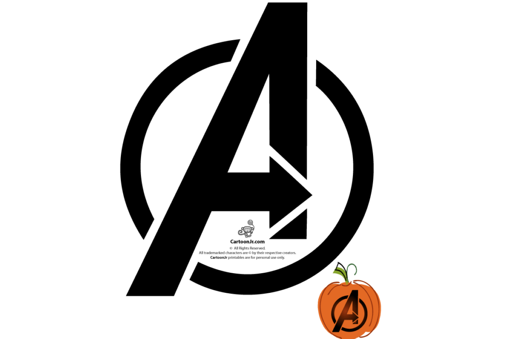 Simple, easy pumpkin carving ideas of the Avengers. | The Dating Divas