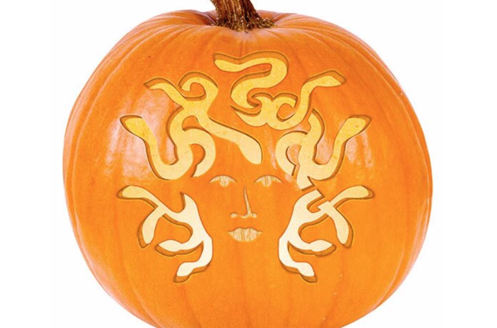 Medusa pumpkin carving ideas. | The Dating Divas